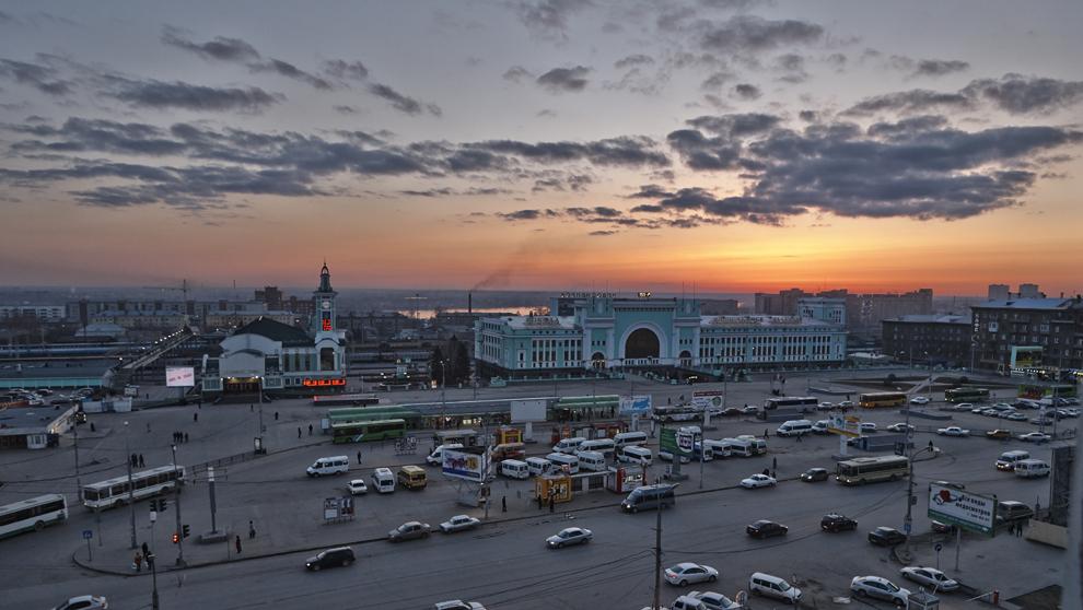 La Estación Central de Novosibirsk-Glavny es la puerta de entrada a...