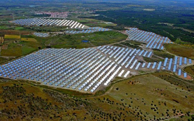 Planta solar Acciona.