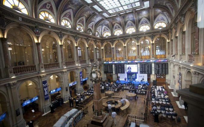 Palacio de la Bolsa de Madrid.