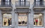 Tienda de Mango en Las Ramblas de Barcelona