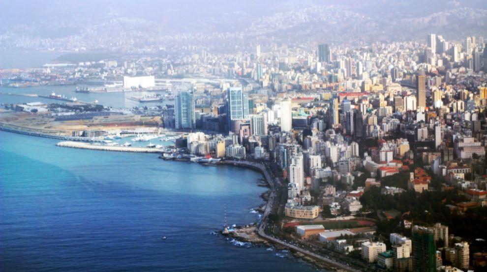 Panorámica de Beirut, capital del Líbano. Tiene algo más de 350.000...