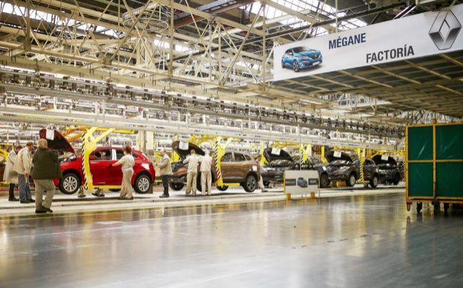 Factoría de Renault en Palencia.