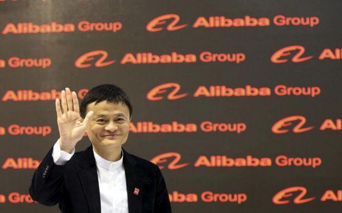 El fundador de la multinacional de comercio electrónico Alibaba, Jack...