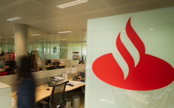Instalaciones de la Ciudad Financiera del Banco Santander.