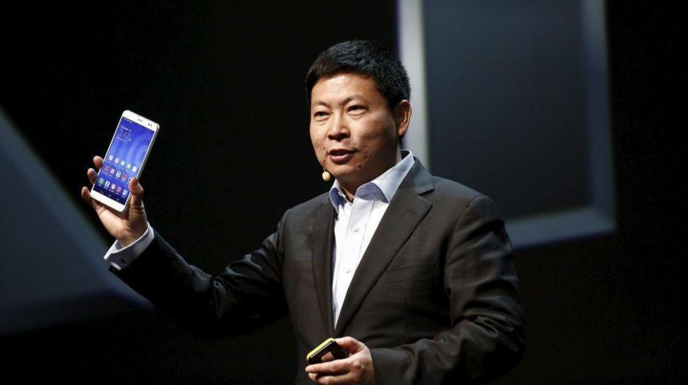 Richard Yu, consejero delegado del negocio de Consumo de Huawei.