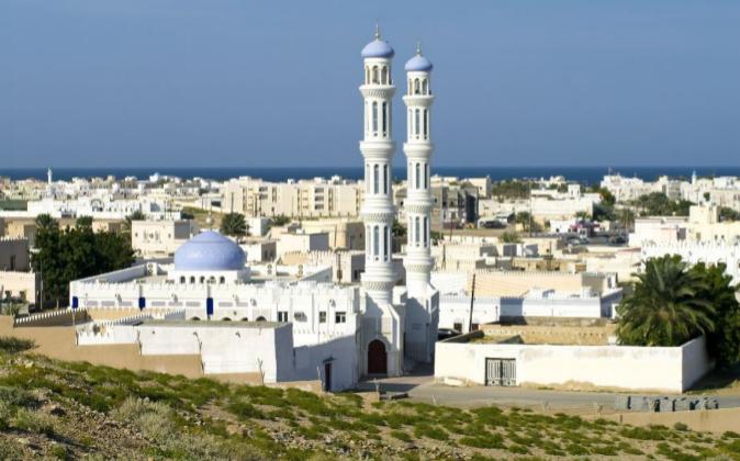 Una de las mezquitas de Mascate, capital de Omán