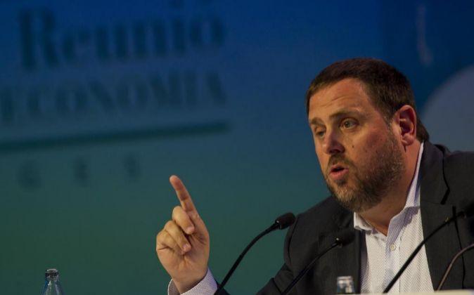 El vicepresidente catalán y conseller de Economía Oriol Junqueras.