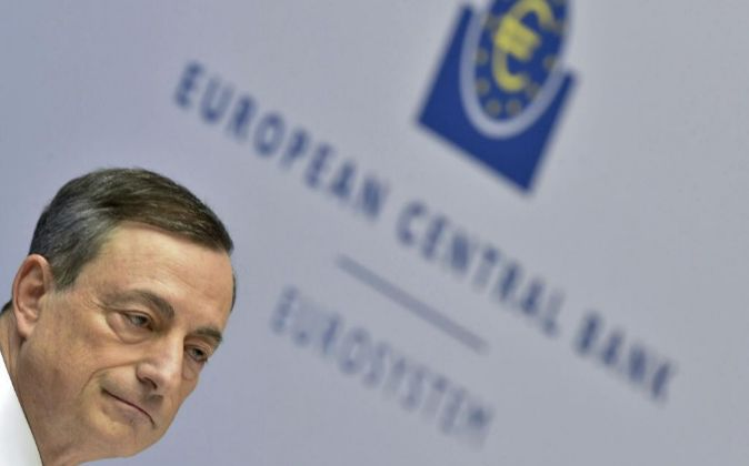 El presidente del Banco Central Europeo (BCE) Mario Draghi.
