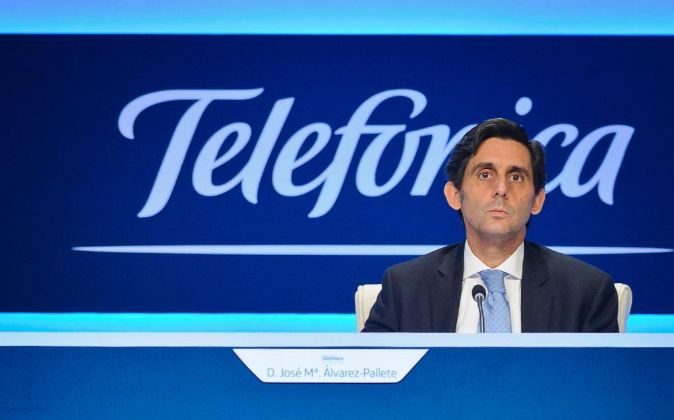Presidente de Telefónica, José María Álvarez.