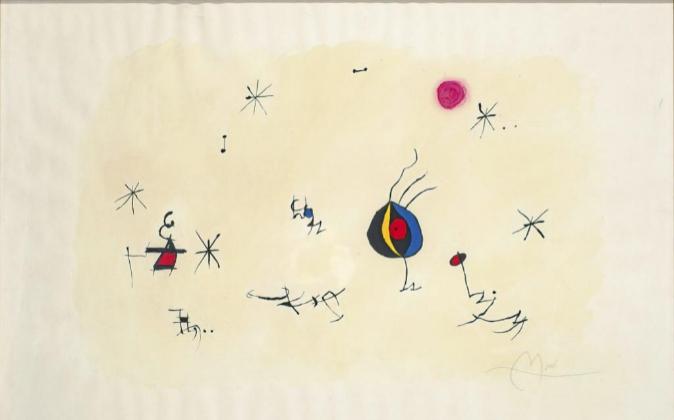 Barcelona' (1971-1973), de Joan Miró, tiene un precio de salida...