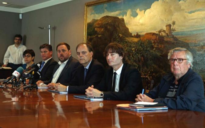 El vicepresidente y conseller de Economía y Hacienda, Oriol...