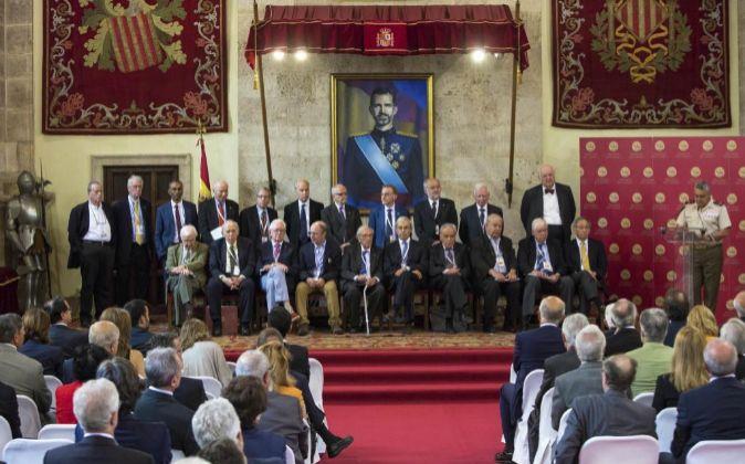 Los jurados de los Premios Jaime I, integrados por veintitrés...