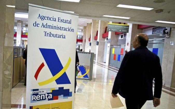 Imagen de la delegación de la Agencia Tributaria de Guzmán el Bueno,...