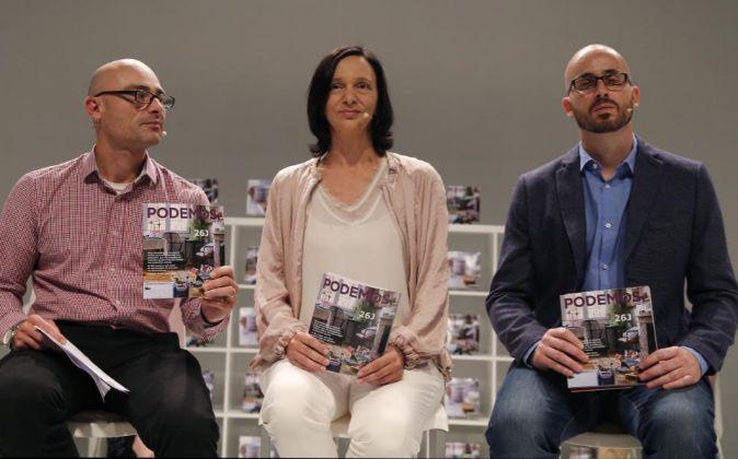 La secretaria de Análisis Social de Podemos, Carolina Bescansa, el...
