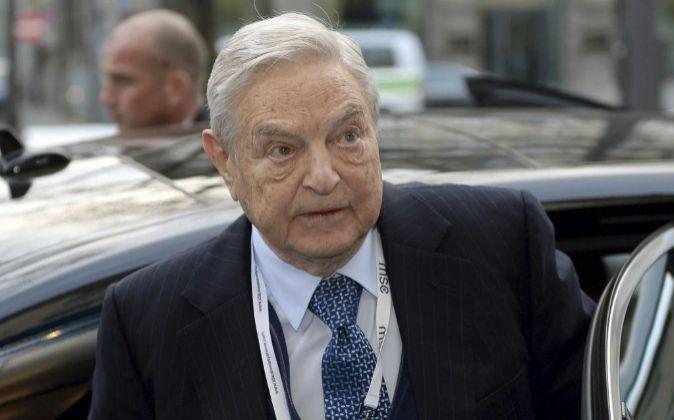 El magnate estadounidense de origen húngaro George Soros.