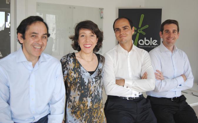 Los cuatro socios de BeAble Capital.