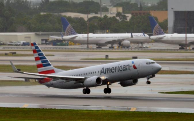 Avión de American Airlines.
