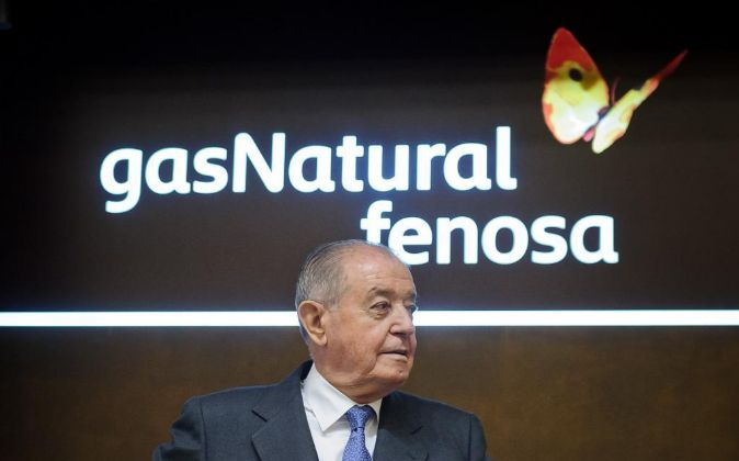 El presidente de Gas Natural Fenosa Salvador Gabarró.