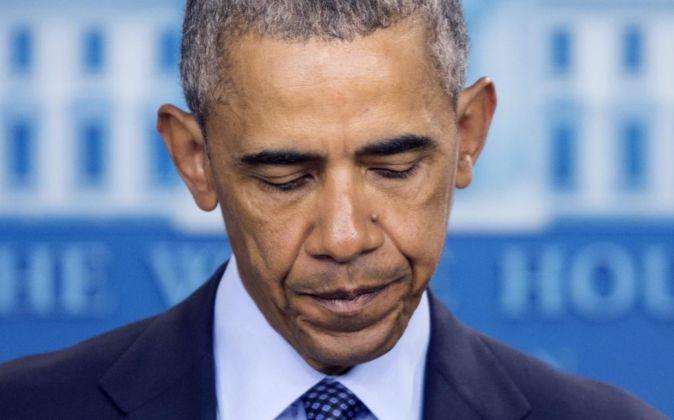 El presidente de EEUU Barack Obama.