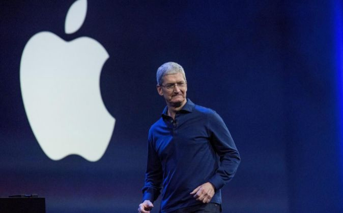 El CEO de Apple Tim Cook.