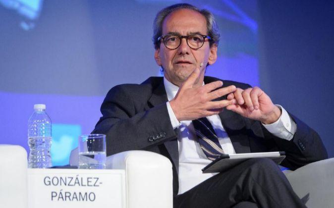 José Manuel González-Páramo, en un foro reciente.