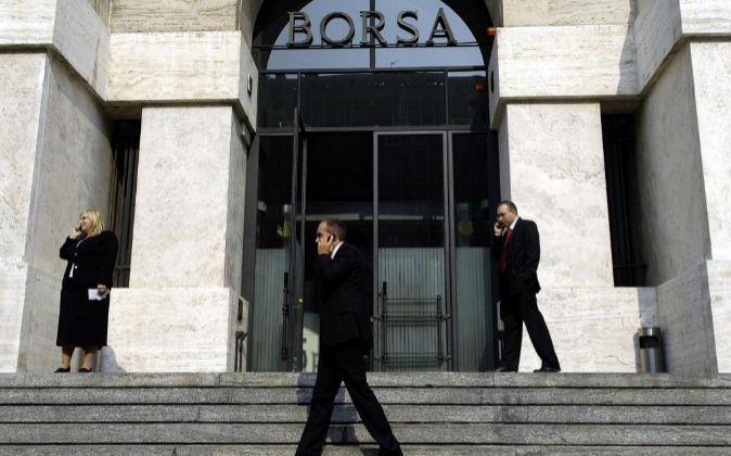 Sede de la Bolsa de Milán.