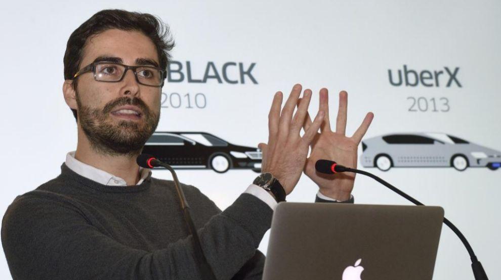 El director general de Uber en el Sur de Europa, Carles Lloret