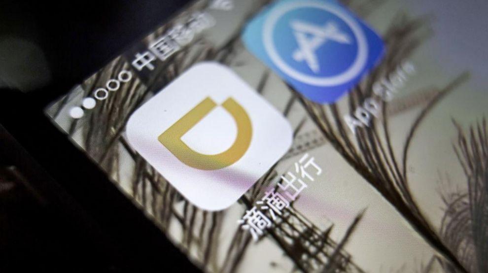 El icono de la aplicación de Didi Chuxing, el 'Uber chino'