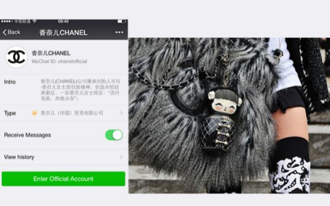 Chanel fue una de las primeras marcas de lujo en utilizar WeChat.