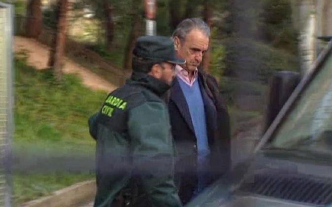 Mario Conde, durante su detención, en una imagen de archivo.