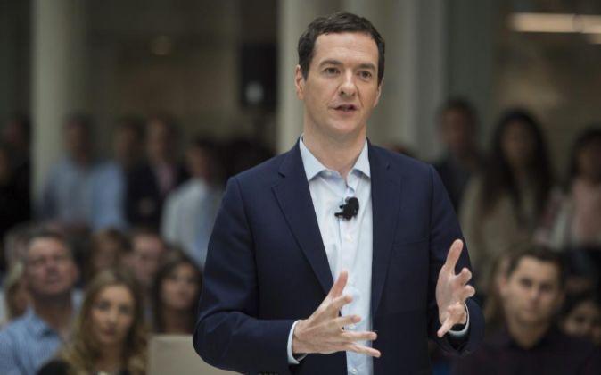 George Osborne, el ministro de Economía de Reino Unido.
