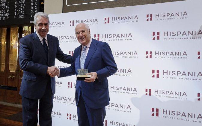 Rafael Miranda Robredo,  presidente del consejo de administración y...