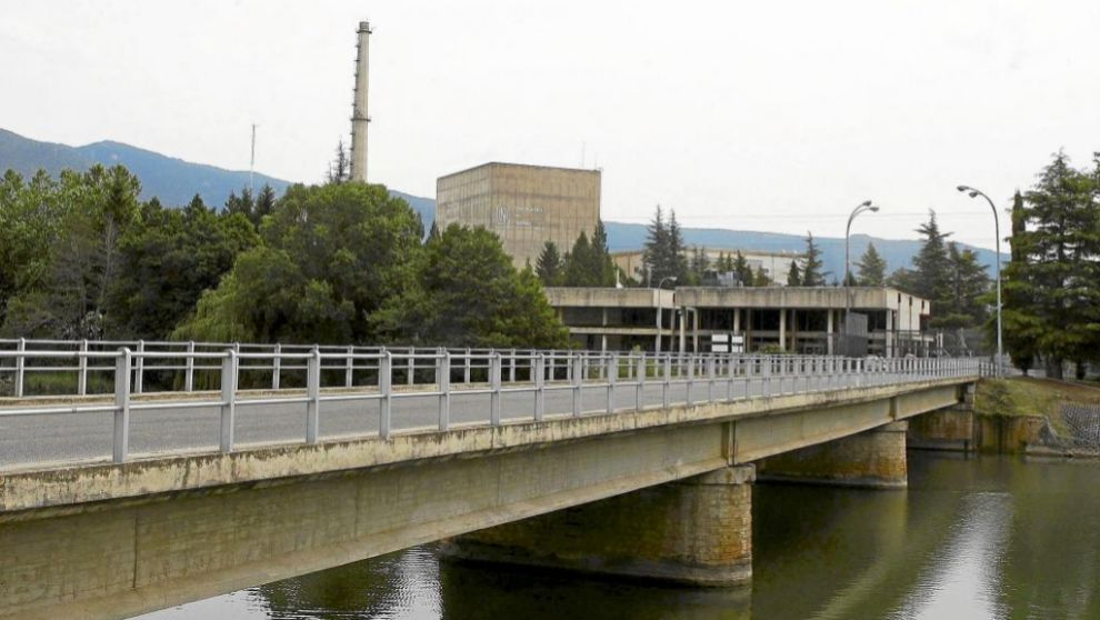 Central nuclear de Garoña.