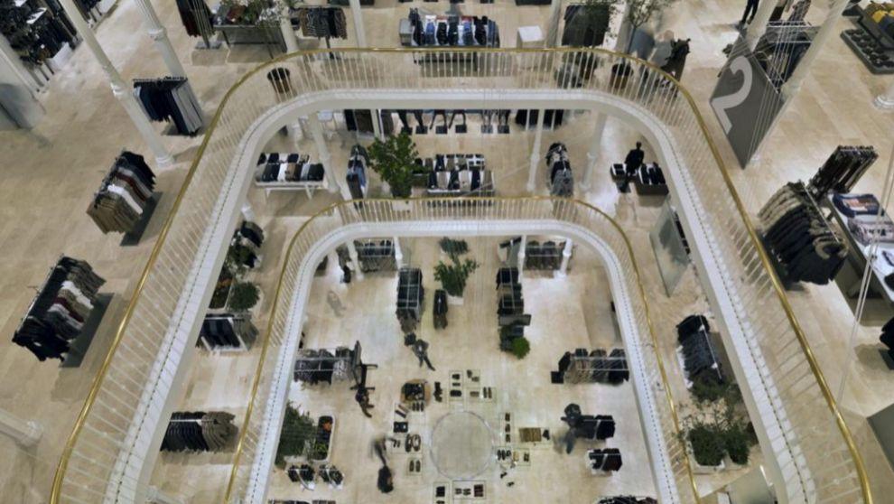Tienda de Zara en Roma, un edificio con más de 120 años de historia.