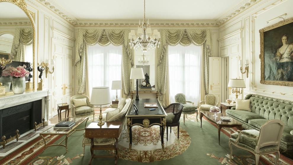 """Suite Vendôme. Una de las """"prestige"""" suites del hotel de..."""