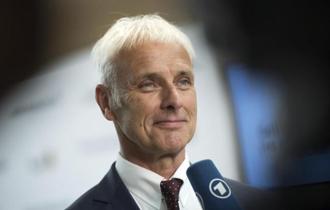 Matthias Müller, consejero delegado del grupo Volkswagen.