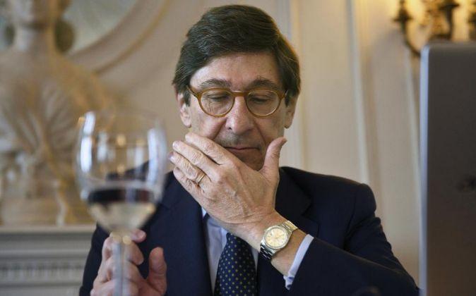 El presidente de Bankia, José Ignacio Goirigolzarri, este jueves 16...
