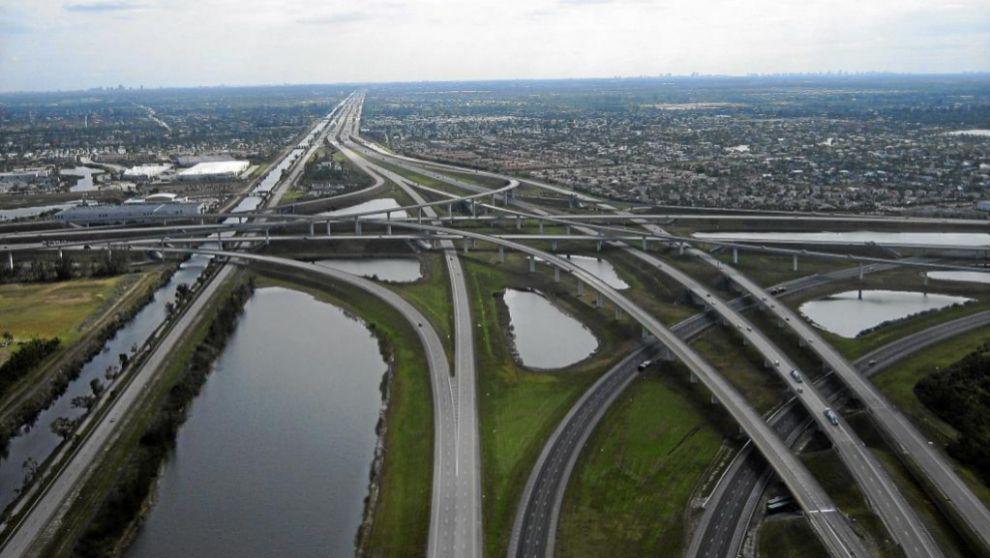 Autopista I-595 de ACS  en Florida.