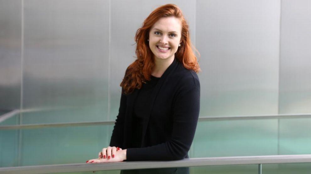 La directora de Digitalización de Bayer Jessica Federer.