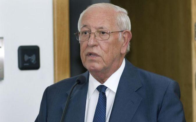 El presidente de Caja Rural de Jaén, José Luis García Lomas.
