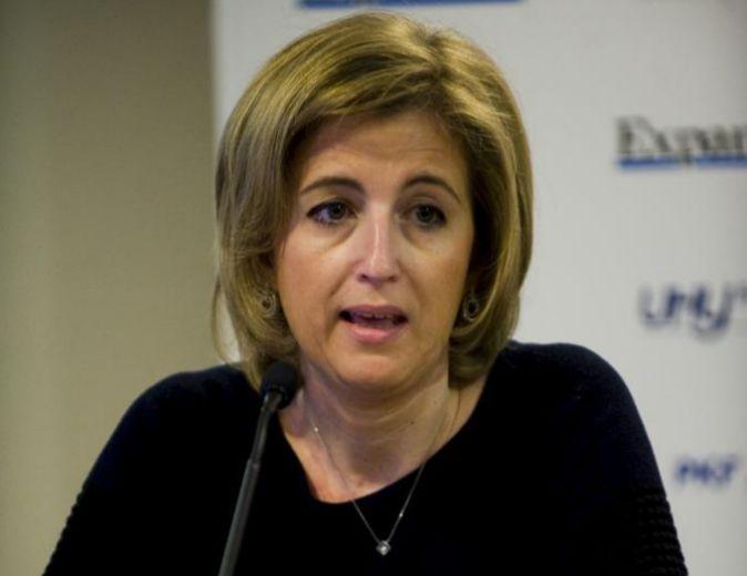Ana María Martínez-Pina, presidenta del ICAC, durante un evento...