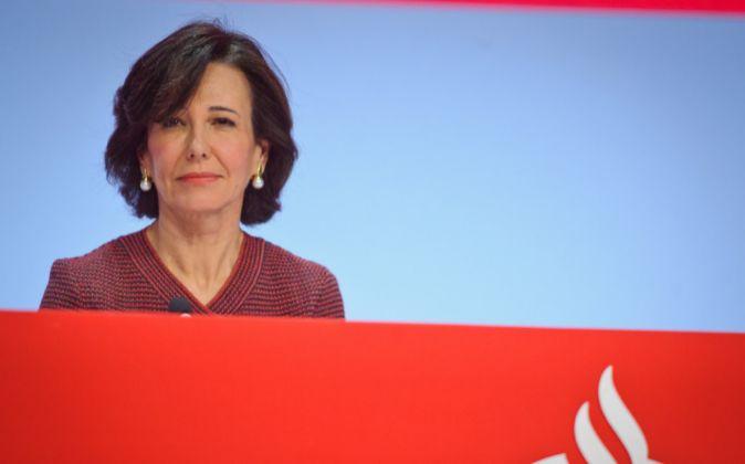 Ana Botín, presidenta del Banco Santader