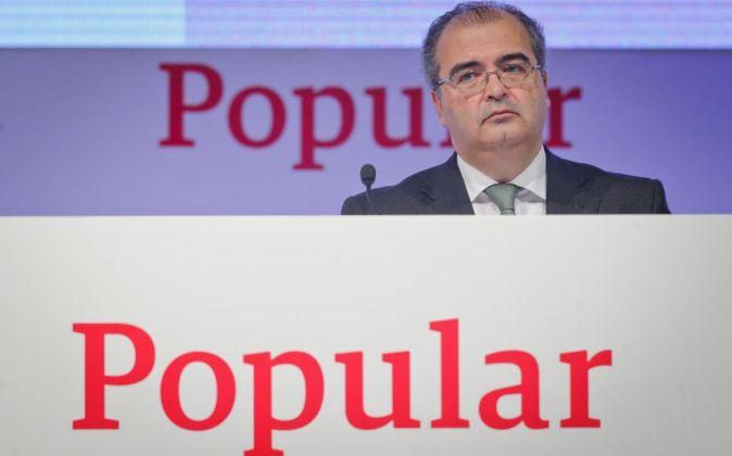 Ángel Ron, Presidente del Bonco Popular.
