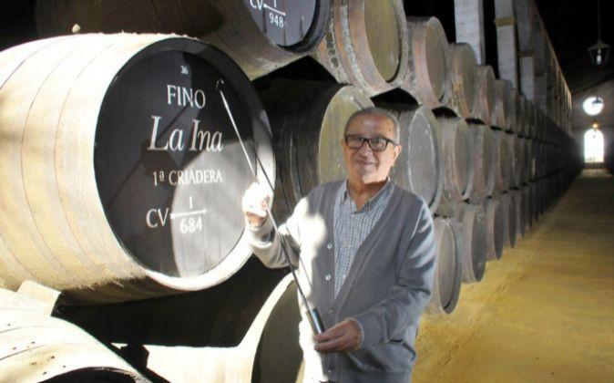 El cotizante más antiguo. Francisco Parra, de 85 años, y con 70...
