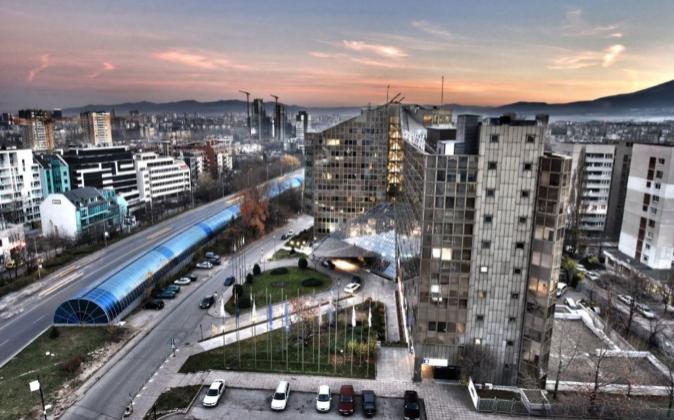 Vistas del centro de Sofía, la capital de Bulgaria.
