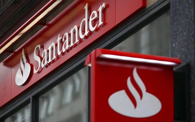 Oficina del Banco Santander en el Reino Unido.