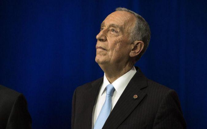 El presidente portugués Marcelo Rebelo de Sousa.