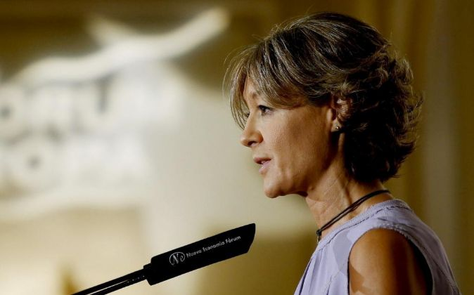 La ministra de Agricultura en funciones Isabel García Tejerina.