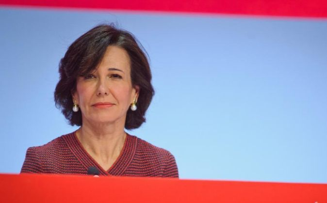 La presidenta del Banco Santander Ana Patricia Botín.