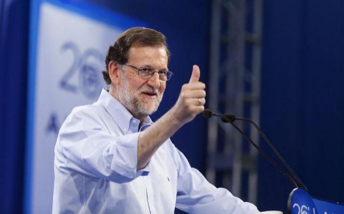El candidato del Partido Popular a la presidencia del Gobierno de...